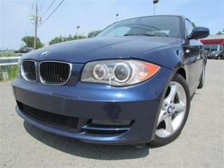 Used 2010 BMW 1 Series 128 I BLUETOOTH for sale in Ste-Catherine, QC