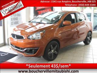 Used 2017 Mitsubishi Mirage Es Plus A/c for sale in Boucherville, QC