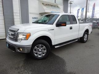 Used 2013 Ford F-150 XLT XTR 4x4, 5.0L V8, Super Cab, Sensors/Camera for sale in Langley, BC