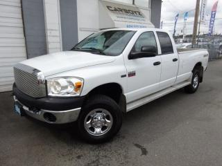 Used 2009 Dodge Ram 2500 SXT 4x4, Quad Cab 8 Ft. Box, Extra Clean for sale in Langley, BC