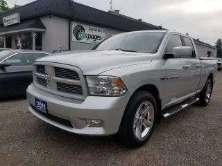 Used 2011 Dodge Ram 1500 SLT for sale in Bloomingdale, ON