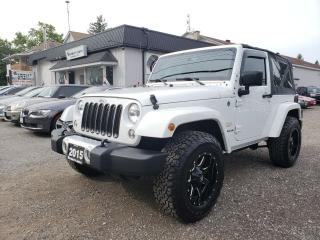 Used 2015 Jeep Wrangler Sahara for sale in Bloomingdale, ON