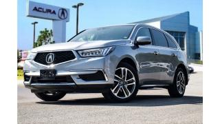 Used 2017 Acura MDX Navi Accident Free| Remote Start| Bind Spot for sale in Thornhill, ON