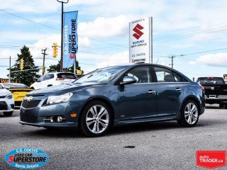 Used 2012 Chevrolet Cruze LTZ RS ~Nav ~Heated Leather ~Power Moonroof for sale in Barrie, ON