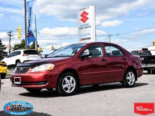 Used 2005 Toyota Corolla CE ~Only 78,000 KM! for sale in Barrie, ON