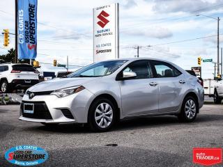 Used 2014 Toyota Corolla CE ~Heated Seats ~Backup Cam for sale in Barrie, ON