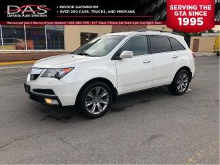 Used 2012 Acura MDX ELITE PKG/ NAVIGATION/REAR CAMERA/TV DVD for sale in North York, ON