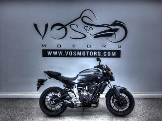 Used 2015 Yamaha FZ-07 - Free Delivery in GTA** for sale in Concord, ON