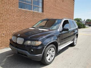 Used 2004 BMW X5 4.4i for sale in Oakville, ON