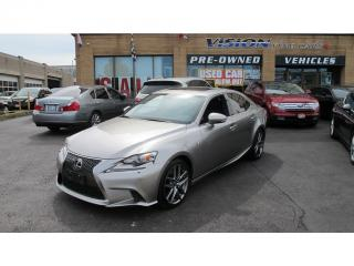 Used 2014 Lexus IS 350 F SPORT SERIES II/NAVI/BACK UP CAMERA for sale in North York, ON