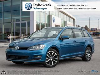 Used 2015 Volkswagen Golf Sportwagon 1.8T Highline at w/Tip for sale in Orleans, ON