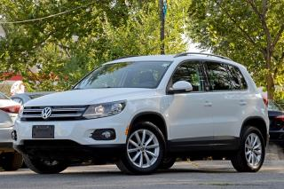 Used 2017 Volkswagen Tiguan Wolfsburg Edition 2.0T 6sp at w/Tip 4M for sale in Ottawa, ON
