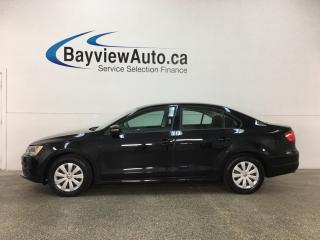Used 2014 Volkswagen Jetta 2.0L Trendline+ - 5 SPD! KEYLESS ENTRY! A/C! PWR GROUP! for sale in Belleville, ON
