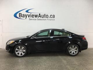 Used 2015 Buick Regal Premium I - CHROMES! REM START! HTD/AC LTHR! REVERSE CAM! CRUISE! for sale in Belleville, ON