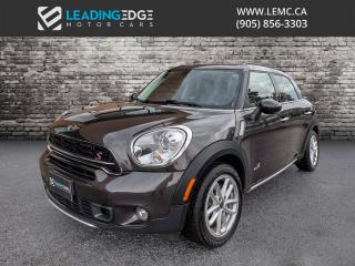 Used 2016 MINI Cooper Countryman Cooper S Leather, Sunroof, Heated Seats for sale in Woodbridge, ON