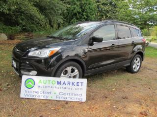 Used 2015 Ford Escape 4WD, NAVI, SE 4WD, INSP, WARRANTY, FINANCING! for sale in Surrey, BC