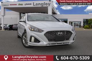 Used 2018 Hyundai Sonata 2.4 Sport <B>*LOCAl *NO ACCIDENTS </B> for sale in Surrey, BC