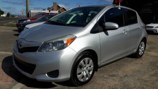 Used 2012 Toyota Yaris hatchback,automatique bas km !!! for sale in St-Henri-de-Levis, QC