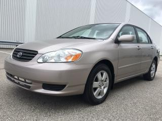 Used 2003 Toyota Corolla LE for sale in Mississauga, ON