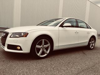 Used 2012 Audi A4 2.0T Premium Quattro for sale in Mississauga, ON