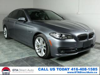Used 2014 BMW 5 Series 535d xDrive Diesel Nav Sport Prem Camera Certified for sale in Toronto, ON