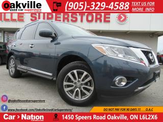 Used 2013 Nissan Pathfinder SL | 7 SEATER | B/U CAM | HTD SEATS | TOW PKG | for sale in Oakville, ON