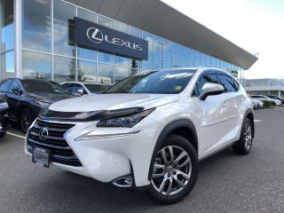 Used 2017 Lexus NX 200t 6A Dealer Demo, Luxury Package, Remote Starter for sale in North Vancouver, BC
