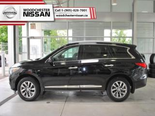 Used 2014 Infiniti QX60 Base  -  power sunroof - $206.09 B/W for sale in Mississauga, ON