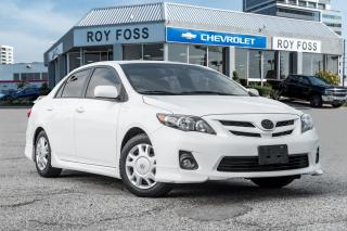 Used 2013 Toyota Corolla S Sunroof Bluetooth Cruise for sale in Thornhill, ON