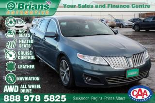 Used 2010 Lincoln MKS w/AWD, Nav, Leather for sale in Saskatoon, SK