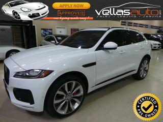 Used 2017 Jaguar F-PACE S| AWD| NAVI| PANO RF| 3.0L SUPERCHARGED for sale in Vaughan, ON