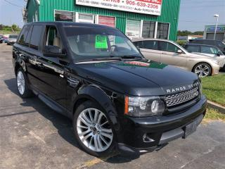 Used 2012 Land Rover Range Rover Sport HSE LUXURY for sale in Burlington, ON