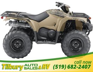 New 2018 Yamaha KODIAK 450 EPS CAMO. *$9200 ALL IN* IF YOU'RE A COSTCO MEMBER for sale in Tilbury, ON