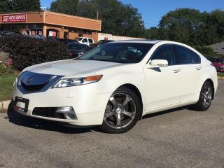 Used 2010 Acura TL SH-AWD-TECH PKG-NO ACCIDENT-NAVI-HEATED-S.ROOF for sale in Mississauga, ON