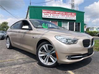 Used 2010 BMW 550i 550i Gran Turismo for sale in Burlington, ON