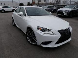 Used 2015 Lexus IS 250 PEARL WHITE AWD PREMIUM for sale in Toronto, ON