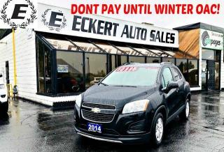 Used 2014 Chevrolet Trax 1LT WITH BLUETOOTH for sale in Barrie, ON