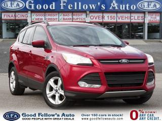 Used 2016 Ford Escape SE MODEL, REARVIEW CAMERA, 2 LITER ECOBOOST, 4WD, for sale in Toronto, ON