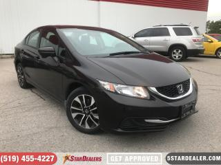 Used 2014 Honda Civic EX   CAM   ROOF   HEATED SEATS for sale in London, ON