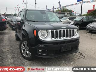 Used 2017 Jeep Renegade Limited | NAV | LEATHER | ROOF | CAM for sale in London, ON