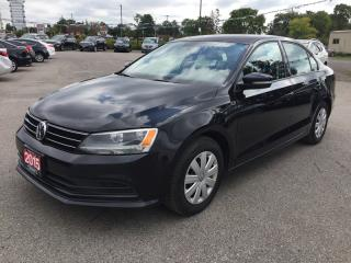Used 2015 Volkswagen Jetta S * Rear CAM * Bluetooth * SAT Radio System * LOW KM for sale in London, ON