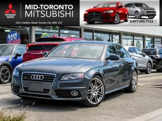 Used 2010 Audi A4 2.0T S Line Premium Leather|Sunroof| for sale in North York, ON
