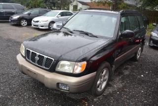 Used 2002 Subaru Forester 5dr Wgn for sale in Halton Hills, ON
