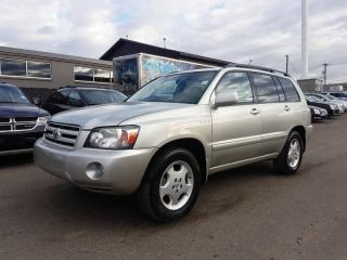 Used 2005 Toyota Highlander LIMITED  for sale in Calgary, AB