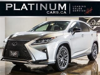 Used 2017 Lexus RX 350 350 F SPORT, NAV, CAM, Ventilated Seats for sale in Toronto, ON