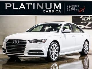 Used 2016 Audi A6 3.0 quattro TDI PremPlus, NAV, S-LINE, Wood Trim for sale in Toronto, ON