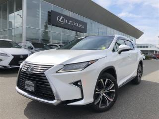 Used 2017 Lexus RX 350 8A Executive Package, Certified, NO Accidents, Loc for sale in North Vancouver, BC