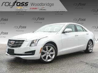 Used 2015 Cadillac ATS 2.0L LEATHER, NAV, BACKUP CAM, BOSE for sale in Woodbridge, ON
