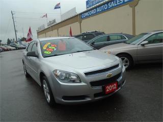 Used 2012 Chevrolet Malibu LS for sale in Breslau, ON