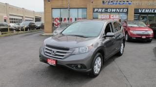 Used 2013 Honda CR-V EX (A5)/ONE OWNER/SUNROOF/B UP CAMERA for sale in North York, ON
